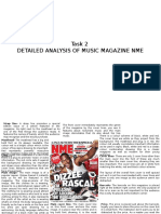 Task 2-Analysis of NME Magazine