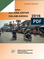 Kecamatan Astanaanyar Dalam Angka 2016