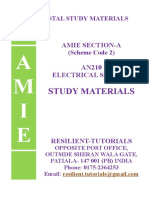 An 210 ELECTRICAL SCIENCE
