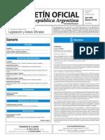 Boletín Oficial de la República Argentina, Número 33.579. 07 de marzo de 2017