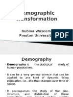 Demographic Transformation