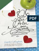 826 Notas de Amor Para Emma - Garth Callaghan.pdf
