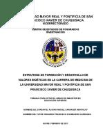 Tesis de Bioética, Universidad, University, Bolivia, White Skin, Bolivian, Bioética