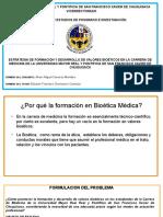 Tesis de Bioética Defensa, Ética, USFXCH, Bolivia, University, Ciencia, Medicina, Doctor, Valores y Virtudes