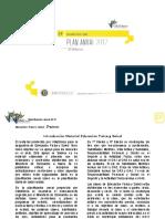 Planificación Anual Educación Física 2° Básico 2017