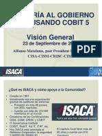 Auditando El Gobierno de Ti_isaca_santiago 2014
