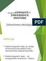 Zdravstvena Ekologija-jonizujuće Zračenje