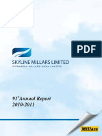 Sky Line Millars 2011