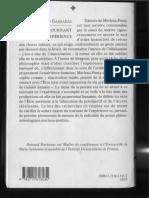 Merleau Ponty, Le tournant de l'expérience, Barbaras