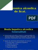 Boala Cronica Alcoolica de Ficat. Hepatite Toxice 2011 Dec