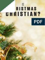 Is Christmas Christian