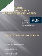 Clasificacion, Especificaciones y Propiedades Del Acero - Copia