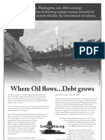 Where Oil Flows, Public Debt Grows