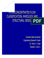 Hyperconcentrated Flow