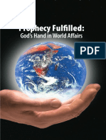 Prophecy Fulfilled God's Hand in World Affairs