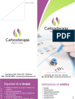 Brochure Carboxiterapia