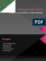 Métodos de LavrA