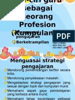(Kumpulan3)Ciri-ciri Guru Sebagai Seorang Profesion