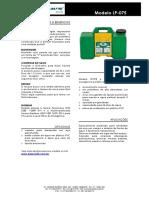 LP 075 Ficha Tecnica