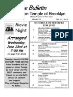 UT Bulletin JUNE 2010
