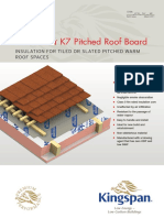 Kooltherm K7 Pitched Roof Board