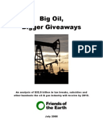 Big Giveaways to Big Oil Exposed