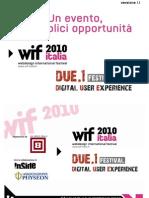 Evento live wif 2010