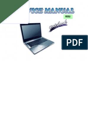 clevo_w650sj_service_manual pdf | Secure Digital
