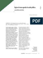 Dilemas Antropológicos de Uma Agenda de Saúde Pública - Programa Rede Cegonha, Pessoalidade e Pluralidade