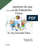 Educación física. Unidad 6. Actividad 6