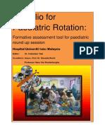 Portfolio for Paediatric Rotation 1