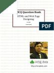 HTML Mcq Bank