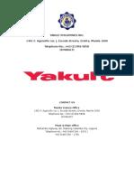 Yakult Philippines Inc