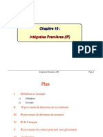 Chapitre 10-Intégrales Premières