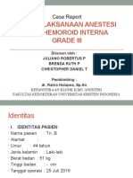 Case Report Anestesi Hemoroid