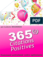 365 Citations Positives