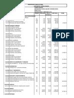 Presupuesto Galeno Segundo Nivel