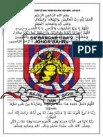 Doa Majlis Perhimpunan Negeri Johor