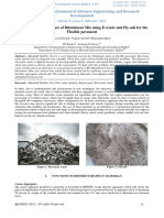 A Review on Performance of Bituminous Mix Using E-waste and Fly-Ash for the Flexible Pavement-IJAERDV04I0241658