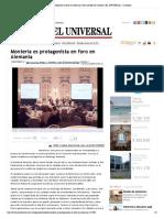 01-06-2016 Montería es protagonista en foro en Ale...de montería | EL UNIVERSAL - Cartagena