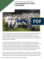29-01-2017 Nicaragua se coronó campeón de la Serie Latinoamericana de Béisbol - LARAZON.CO.pdf