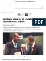 29-10-2016 Montería, entre las 10 ciudades más sostenibles del mundo   ELESPECTADOR.COM.pdf