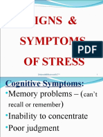 Stress Symptoms, Causes & Effects