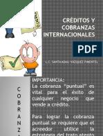 Créditos y Cobranzas Internacionales 3er Parcial