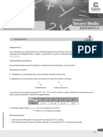 Guía Ejercitación 5 Congruencia de Figuras Planas y Transformaciones Isométricas