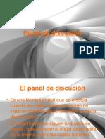 El Panel de Discusión