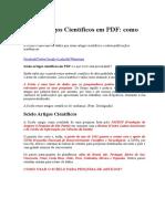 Scielo Artigos Científicos Em PDF
