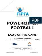 FIPFA Laws of the Game Approved December 2010