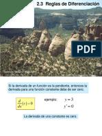 2017 1 Calc02 3Reglas de Diferenciación