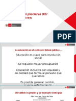 Presentacion Ministra de Educacion de Peru Marzo 2017.pptx